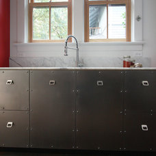 Eclectic Kitchen by bright designlab