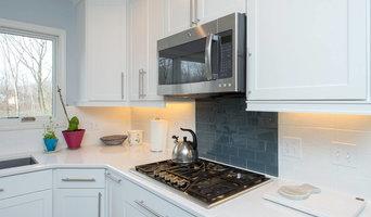 Modern Kitchen Remodel - Clean, Monochrome Style