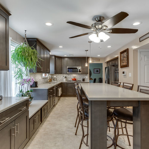 Modern Kitchen Remodel Manassas, VA by Reico Kitchen & Bath