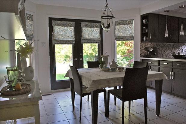 Traditional Kitchen by Melissa Condotta Design