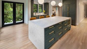 Modern Kitchen Renovation in Glover Park, Washington DC