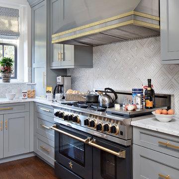 Modern Kitchen renovation renovation of 1930's house