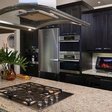 Modern Kitchen by Sarah St. Amand Interior Design