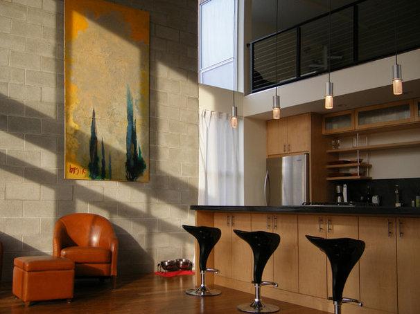 Industrial Kitchen Modern Kitchen