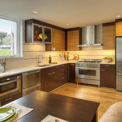 modern kitchen by Elemental Design, LLC