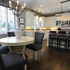 modern kitchen by Susan Brunstrum of SWEET PEAS DESIGN INC