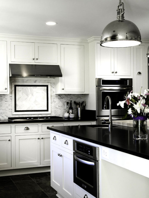 backsplash designs for kitchen black countertop and white cabinets home design ideas 4249