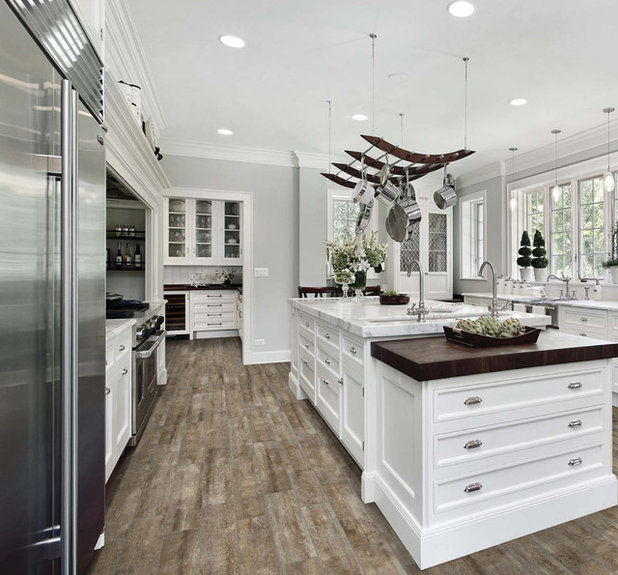 Modern Kitchen by Traditions in Tile