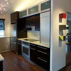 Contemporary Kitchen by Blue Desert Interiors