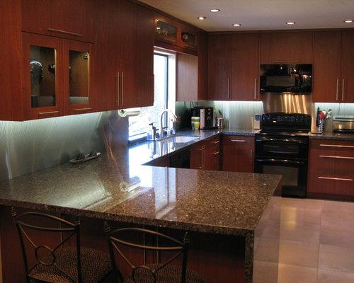 Medium Sized U Shaped Kitchen Design Ideas Renovations Photos