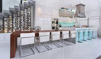 Modern Kitchen Wine Storage