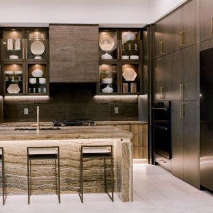 Modern Kitchen with Cambria Clairidge