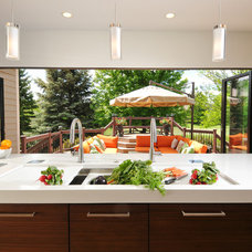 Contemporary Kitchen by The Kitchen Studio of Glen Ellyn