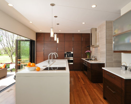 Bamboo kitchen cabinets home design ideas pictures remodel and decor