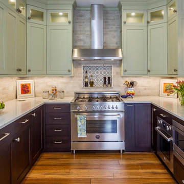 Modern Kitchen with European Flair