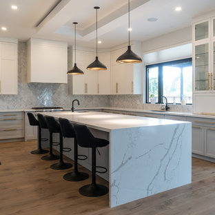 Modern Kitchen with Grey Colour