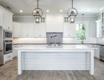 Modern Kitchen with Traditional Details