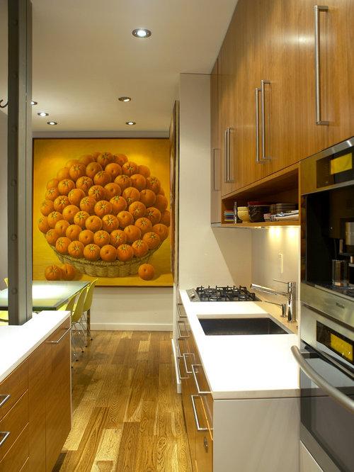 Best Small Modern Kitchen Design Ideas & Remodel Pictures | Houzz