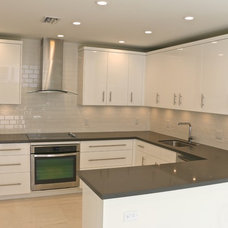 Contemporary Kitchen by Monte Cristos of England