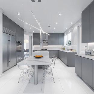 Modern Kosher Kitchen - Miami Beach