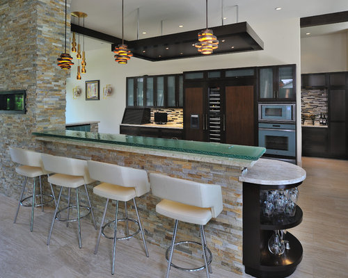 Kitchen Partition Wall Design Ideas Remodel Pictures Houzz