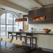 modern kitchen by PURVI PADIA DESIGN
