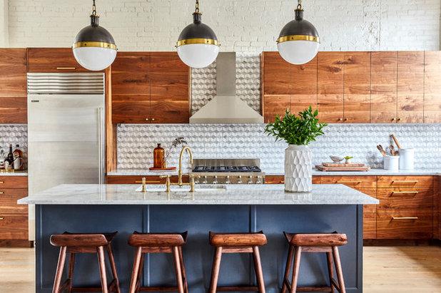 Современная классика Кухня by Osborne Construction