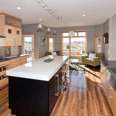 modern kitchen by Nicole Olafson, CKD, CBD