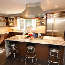 Contemporary Kitchen by Cherry Hill Cabinetry
