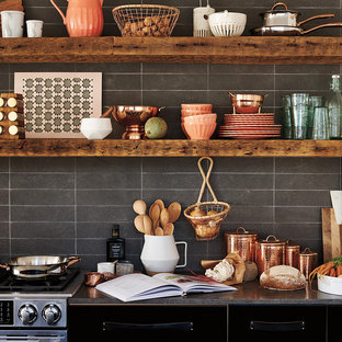 Design ideas for a country kitchen in London.