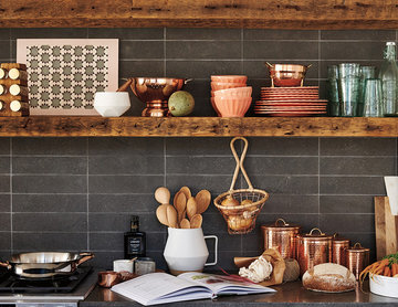 Modern Meets Country Kitchen