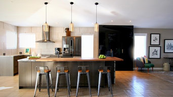 Modern Meets Rustic Kitchen Renovation