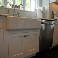 Transitional Kitchen by Mill Valley Kitchens