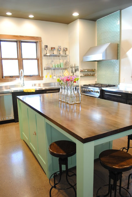 Contemporary Kitchen by Creative Wood Designs Inc.
