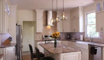 Modern mixed finish kitchen