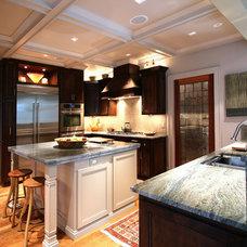 Modern Kitchen by Walker Woodworking