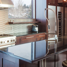 Contemporary Kitchen by Grace Home Design, Inc.