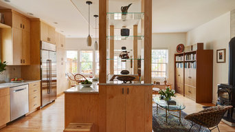 Modern Nature-Inspired Kitchen Renovation