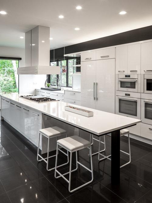Kitchen with Quartz Countertops Design Ideas Remodel