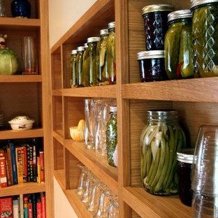 Modern kitchen appliance - Example of a minimalist kitchen design in Portland