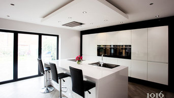 Modern open plan kitchen as part of full house renovation West Yorkshire 2016