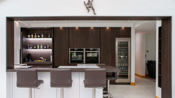 Modern open plan kitchen living