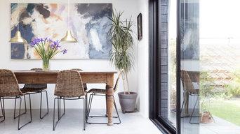 Modern Open Plan Kitchen Living Room Extension in Edinburgh