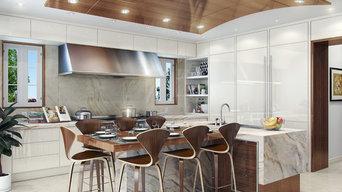 Modern Palm Beach Kitchen