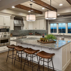 Transitional Kitchen by Interiors Joan and Associates