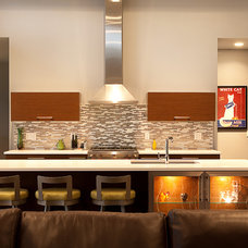 Contemporary Kitchen by Acker Builders, Inc.