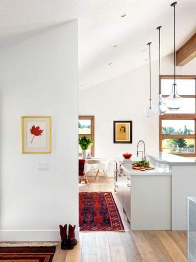 modern ranch house interior houzz tour a modern ranch shines in the alberta foothills