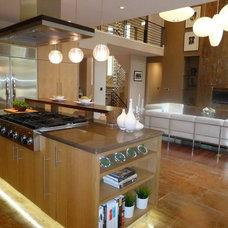 Contemporary Kitchen by RE.DZINE