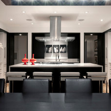 Contemporary Kitchen by Connie Young Design, a division of ce de ce inc.