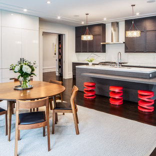 75 Beautiful Kitchen With Dark Wood Cabinets Pictures & Ideas - January, 2021 | Houzz
